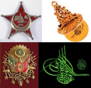 Yıldız İstihbarat Teşkilâtı – Mührü Hümayun (Dr.Zeynel Abidin Erdem ve Mehmet Nezih Erdem kardeşler tarafından bir müzayedede satın alınıp Topkapı Sarayı bağışlanan Sultan Vahdettin'in mührü) Tuğra ve Osmanlı Arması.